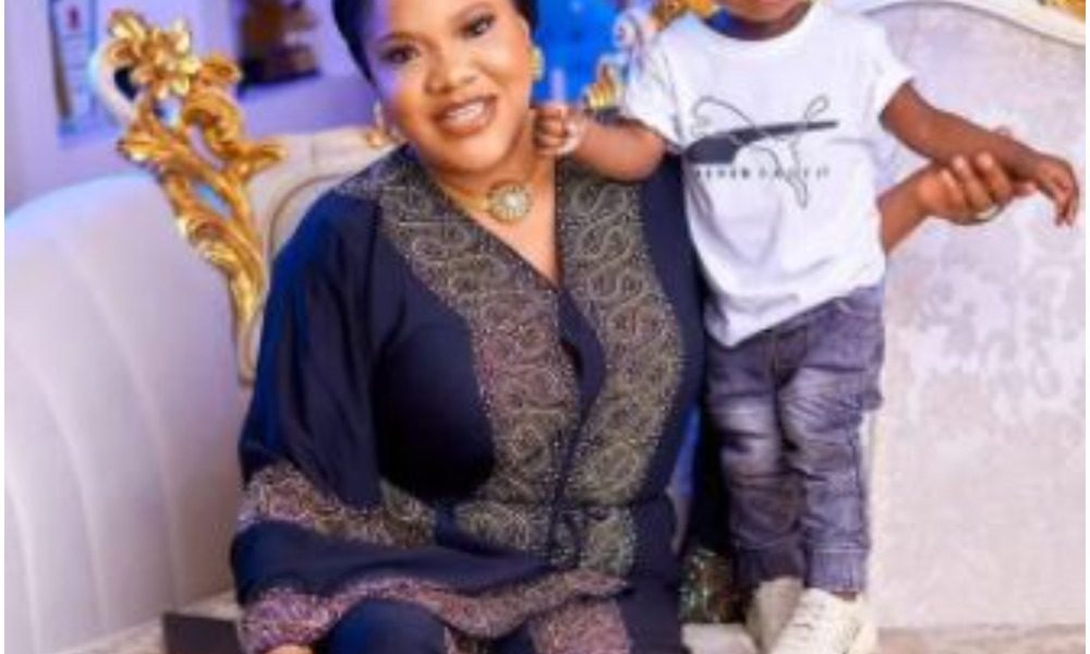 'Children Will Disgrace You'- Toyin Abraham In Tears After Her Son, Ire Did This To Her