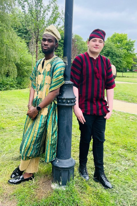 Nigerian Student Causes Stir With Photos Of His White Friends In Babariga