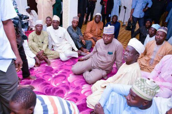 Niger Gov Returns From Overseas Trip, Meets Parents Of Abducted Tegina Pupils