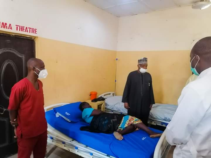 Photos: Atiku Visits Kebbi Students In Hospital After Rescue By Security Operatives