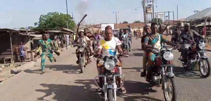 Sunday Igboho Storms Igangan Over Killings [Photos]