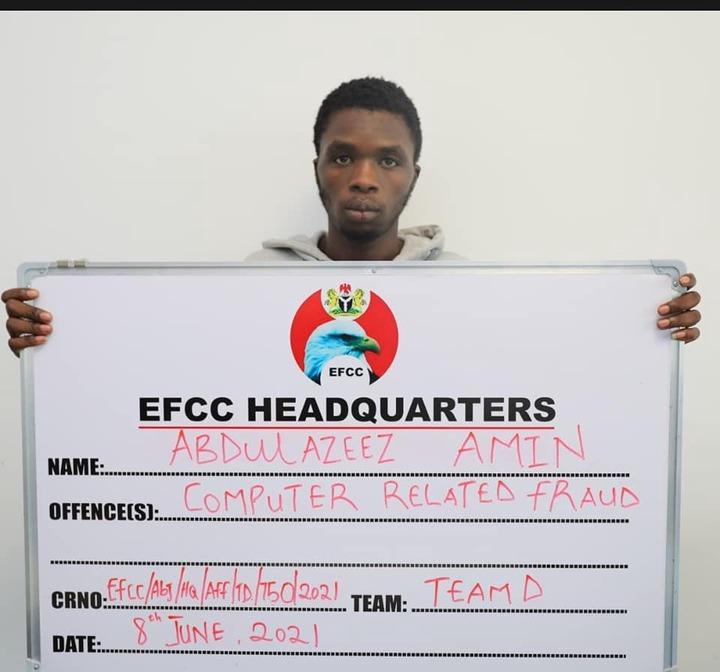 EFCC Arrest Nine Suspected Internet Fraudsters In Abuja - [Photos]