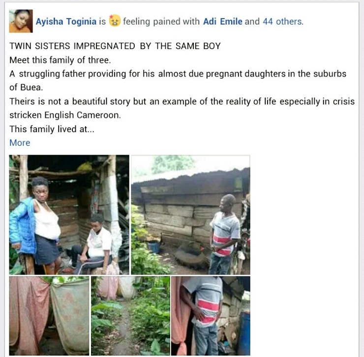 16-Year-Old Twin Sisters Impregnated By The Same Boy  Photos