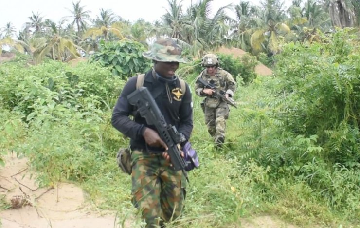US Army Forces, Nigerian Navy Hold Joint Security Training