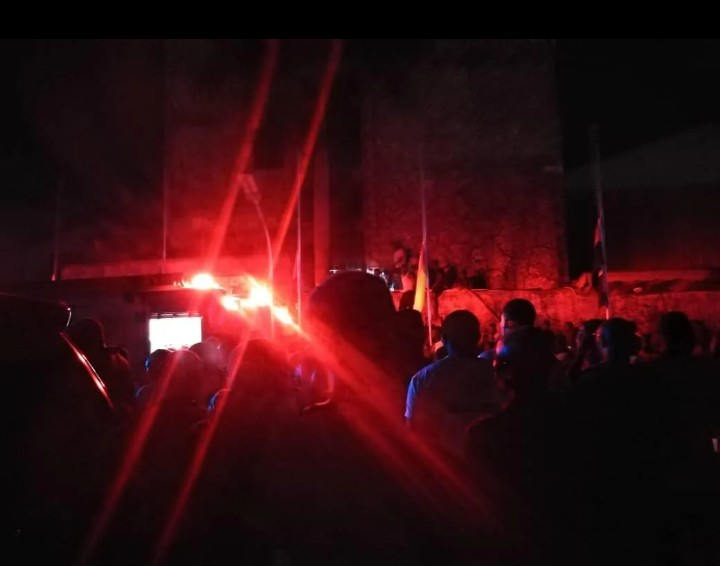 UPDATED: Fire Guts TB Joshua's Synagogue Church Amid Candlelight - [Photos]