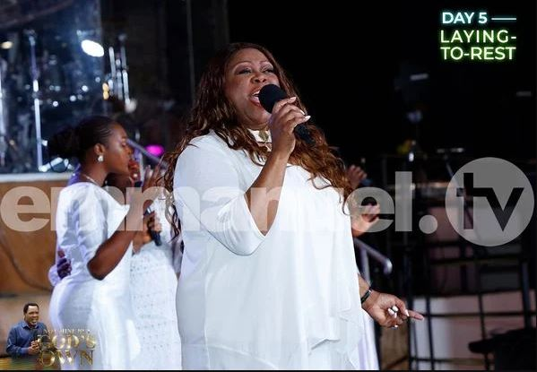 Shirley Murdock, Byron Cage, Others Perform At TB Joshua's Interment Service (Photos)