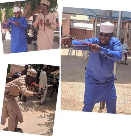 Nigerians React As Katsina Youths Acquire Catapults To Fight Bandits