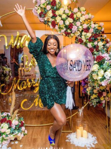 Nollywood actress engaged