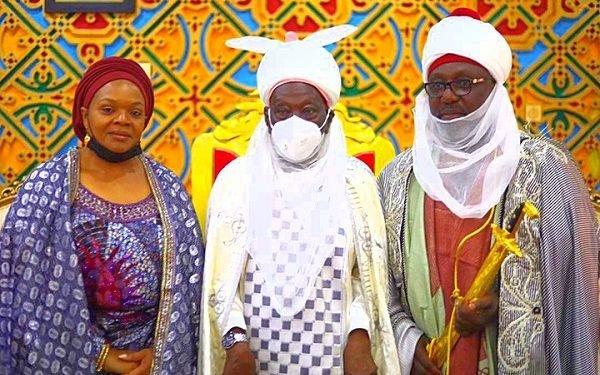 Emir Of Daura Honours Okorocha, Wife With Chieftaincy Title [Photos]
