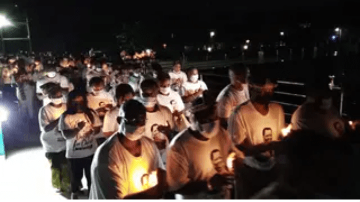 Synagogue Holds Candlelight For TB Joshua (Photos)