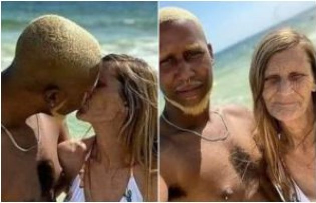 PHOTOS: 24-Year-Old Engaged To A 61-Year-Old Grandma Set To Tie The Knot - Tunde Ednut