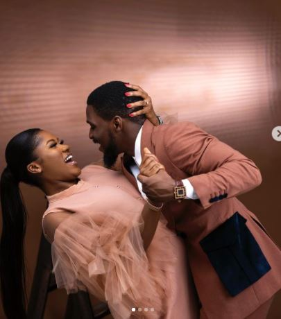 'I prayed and you came': Tobi Bakare gushes over fiance