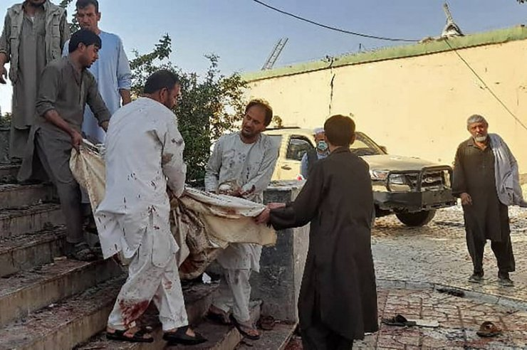 50 Killed in Shiite Mosque Bomb Blast