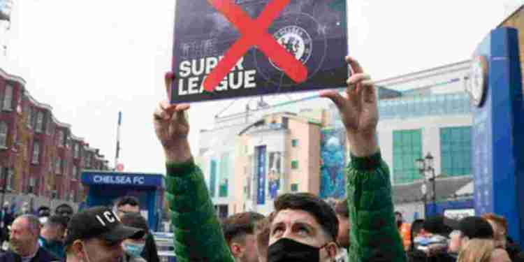Super League: Chelsea formalizes its withdrawal, all English clubs out - Naija News 247
