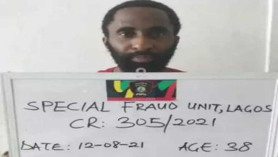 Salau Abdulmalik Femi arrested for allegedly hacking into the server of a Nigerian bank and moving N1.87 billion - Naija News 247