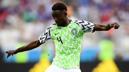 Image result for Super Eagles Midfielder, Ndidi