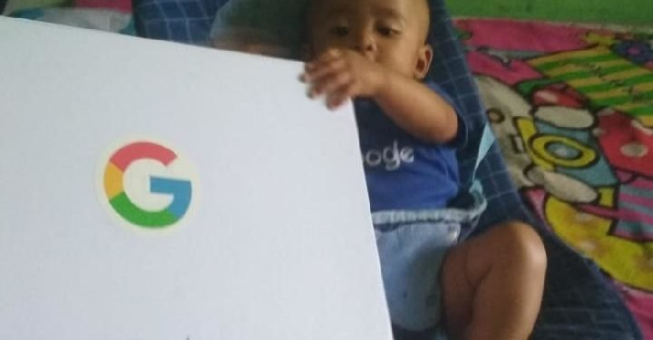 google1138784677 SWEET!!! Google Sends Special Gift To Baby Named 'Google'