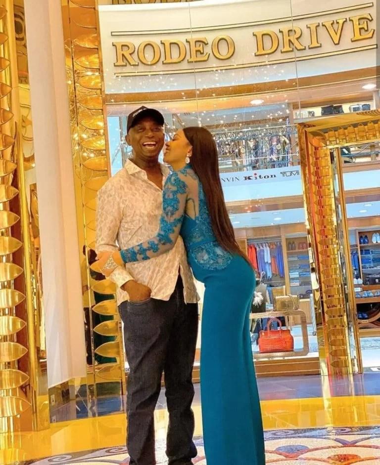 Regina Daniels and Ned Nwoko