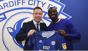 Albert Adomah has joined Cardiff City on loan