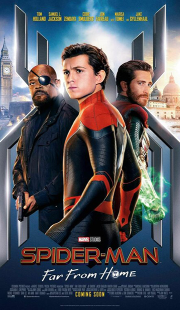 SPIDER MAN- FAR FROM HOME