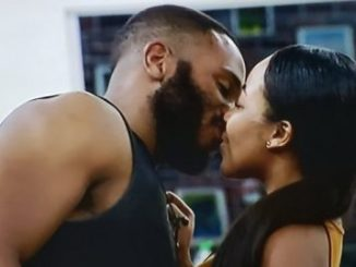 BBNaija 2020: Erica blocks Kiddwaya from having a shower with her