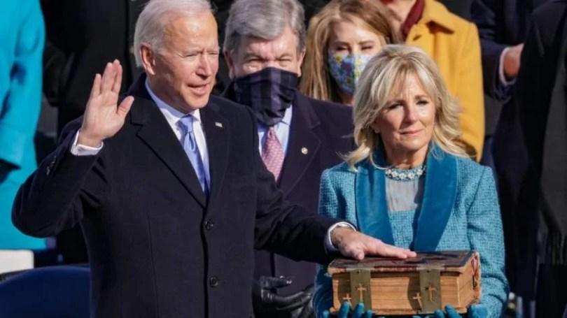 Biden Takes Oath Of Office 1