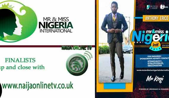 Anthony Erico, Mr And Miss Nigeria International Pageant 2016