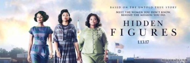 Movies: NASA women in HIDDEN FIGURES, Taraji P. Henson