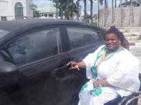 IMO STATE GOVERNOR GIFTS PARALYMPIC GOLD MEDALIST, PRECIOUS ORJI