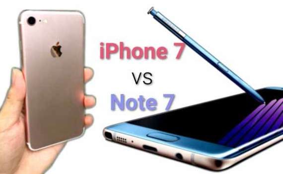 Reasons why SAMSUNG GALAXY NOTE 7 beats Iphone 7 Plus