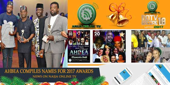 AHBEA COMPILE NAMES FOR 2017 AWARDS