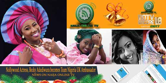 Nollywood Actress, Becky Adediwura becomes Team Nigeria UK Ambassador