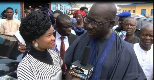 Edo Gov. Godwin Obaseki, Storms Apostle Suleman's Church