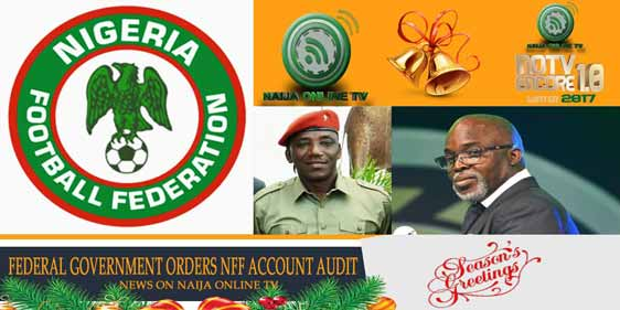 FEDERAL GOVERNMENT ORDERS NFF ACCOUNT AUDIT