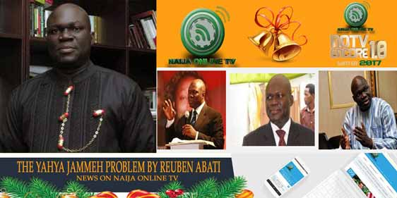 THE YAHYA JAMMEH PROBLEM BY REUBEN ABATI