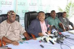 COSON CALLS FOR SUSPENSION OF TWO OFFICIALS OF THE MINISTRY OF JUSTICE