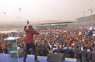 Recoveries, Testimonies As Apostle Suleman Hits Cameroon With 'Help From Above'