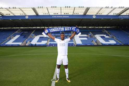 Completed: Iheanacho £25m, 5 year deal with Leicester