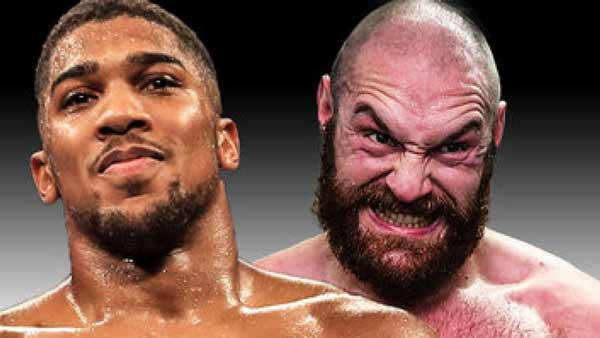 We're in discussion with Tyson Fury's camp – Anthony Joshua