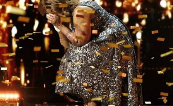 Nigerian singer earn a golden buzzer for her performance on