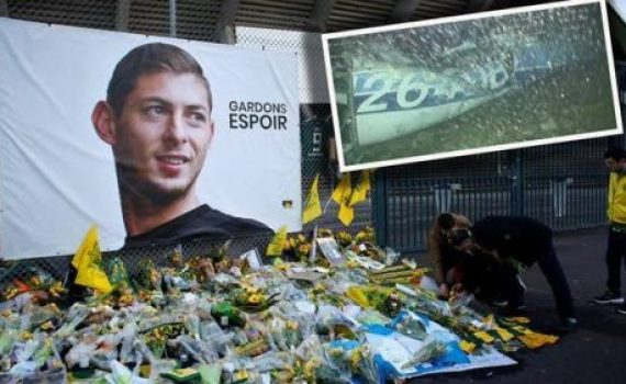 Cardiff Striker, Emiliano Sala Confirmed Dead, Body Recovered From Plane Wreckage