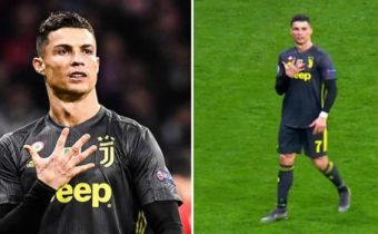 Cristiano Ronaldo Brilliantly Responds To Abuse From Atletico Madrid Fans