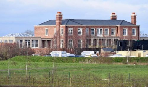 Wayne Rooney's £20 million mansion nearing completion