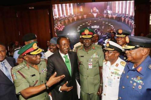 President Buhari May Sack Service Chiefs From His New Cabinet