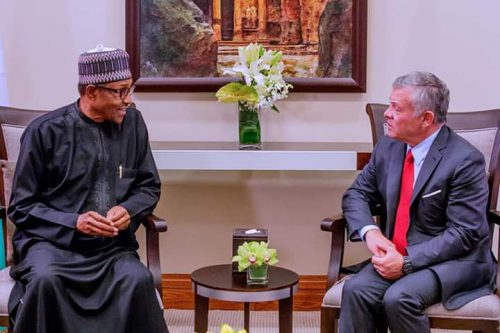 King Of Jordan Assures Nigeria Of More Support To End Terrorism