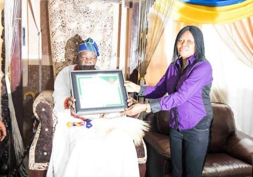 Akran Of Badagry Honours Dr. Joe Odumakin With Africa's Number One Human Rights Activist Award