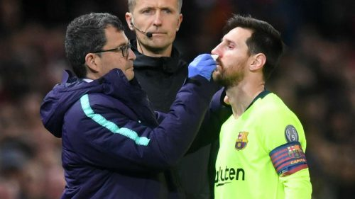 'Smalling hit Messi like a train!' - Valverde unhappy with Manchester United defender
