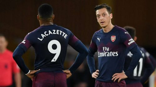 A total shambles! Spineless Arsenal throwing away top-four place