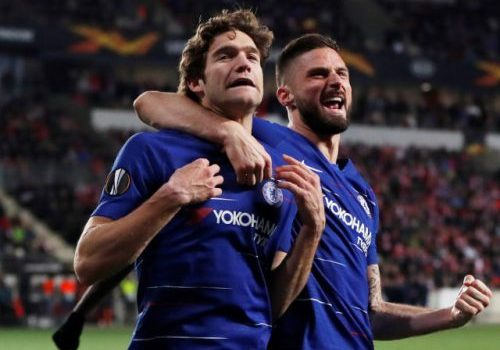 Result: Marcos Alonso goal gives Chelsea win over Slavia Prague in Europa League