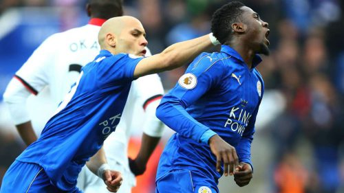 Leicester City's Wilfred Ndidi is Premier League's top tackler